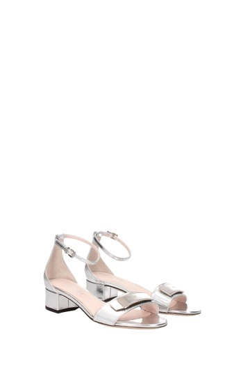 Bally Silver Sandals Image 1
