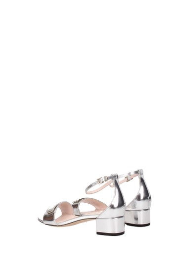 Bally Silver Sandals Image 3