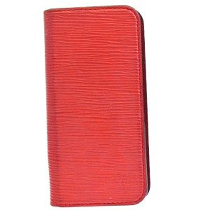 Louis Vuitton LOUIS VUITTON Cell Phone Case iPhone 6 Epi Leather Red
