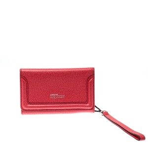 Alexander McQueen Pink Leather Heroine iPhone and Card Holder Case