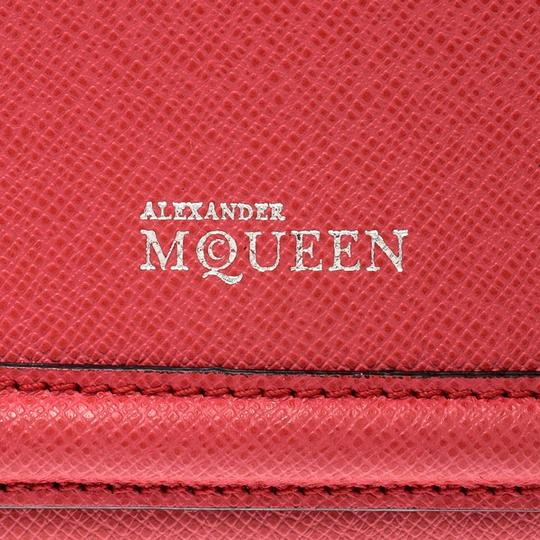 Alexander McQueen Pink Leather Heroine iPhone and Card Holder Case Image 7