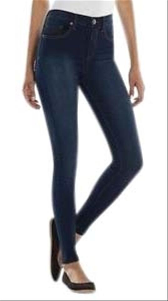 designer fashion modern techniques search for newest Mudd Blue Dark Rinse High Jegging Skinny Jeans Size 2 (XS, 26)