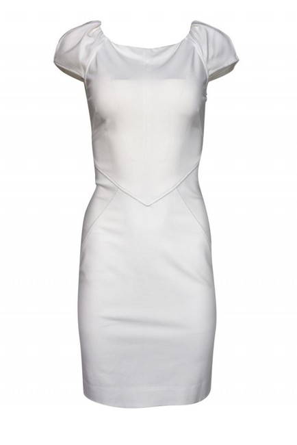 Item - White Cocktail Dress Size 4 (S)