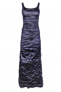 Nicole Miller Gowns Metallic Ruched Dress