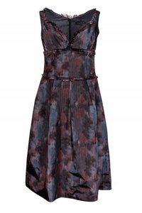 David Meister Copper Gray Dress