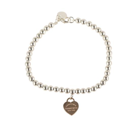 Preload https://img-static.tradesy.com/item/25812517/tiffany-and-co-silver-beaded-rubedo-heart-tag-bracelet-0-2-540-540.jpg