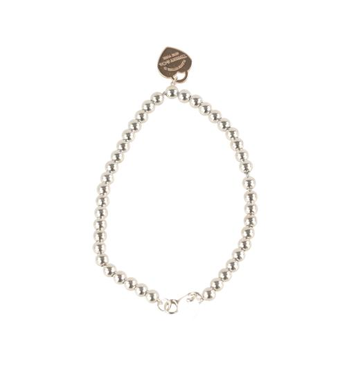 Tiffany & Co. Beaded Rubedo Heart Tag Image 3