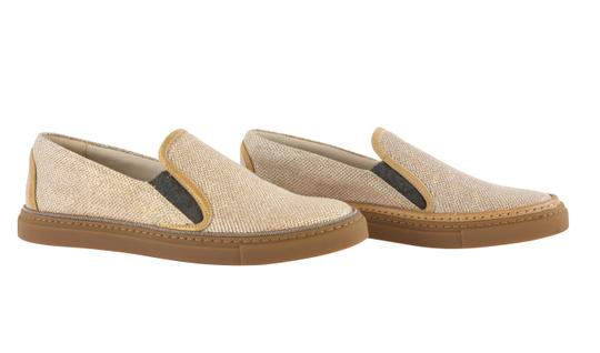Brunello Cucinelli Gold Athletic Image 1