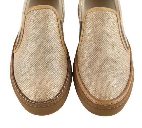 Brunello Cucinelli Gold Athletic Image 5