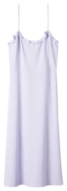 Preload https://img-static.tradesy.com/item/25813365/wilfred-lilac-lavender-purple-philomene-mid-length-short-casual-dress-size-6-s-0-1-650-650.jpg