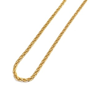 Other (2150) 14K Yellow Gold Rope Chain 24 in