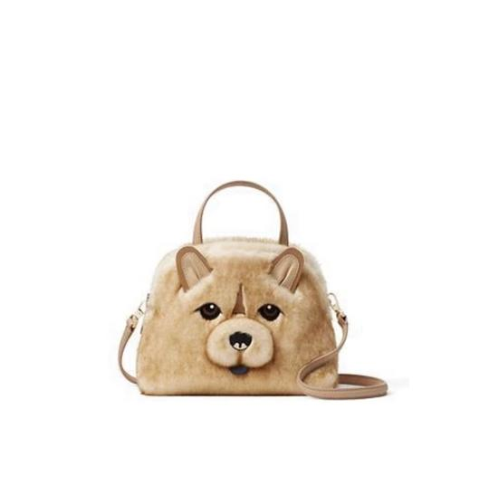 Preload https://img-static.tradesy.com/item/25813411/kate-spade-year-of-the-dog-chow-chow-small-lottie-beige-leather-faux-fur-cross-body-bag-0-0-540-540.jpg