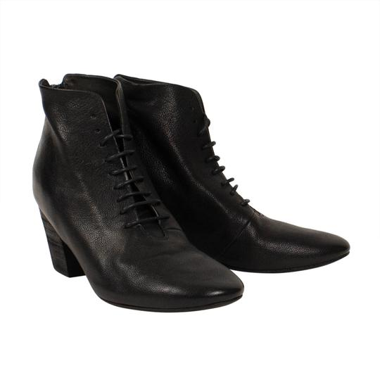 Marsèll Leather Winter Distressed Black Boots Image 1