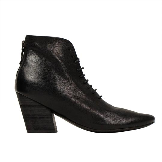 Marsèll Leather Winter Distressed Black Boots Image 3