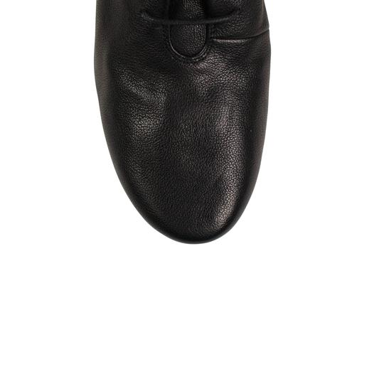 Marsèll Leather Winter Distressed Black Boots Image 4