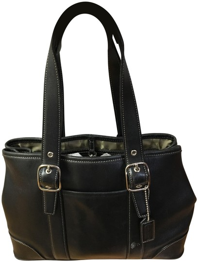Preload https://img-static.tradesy.com/item/25813437/coach-black-leather-satchel-0-1-540-540.jpg