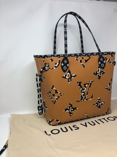 Louis Vuitton Neverfull Neverfull Jungle Neverfull Mm Jungle Collection Jungle Monogram Tote in Ivoire Image 6