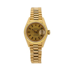 Rolex Rolex Datejust 69178 26MM Champagne Dial With Yellow Gold Bracelet