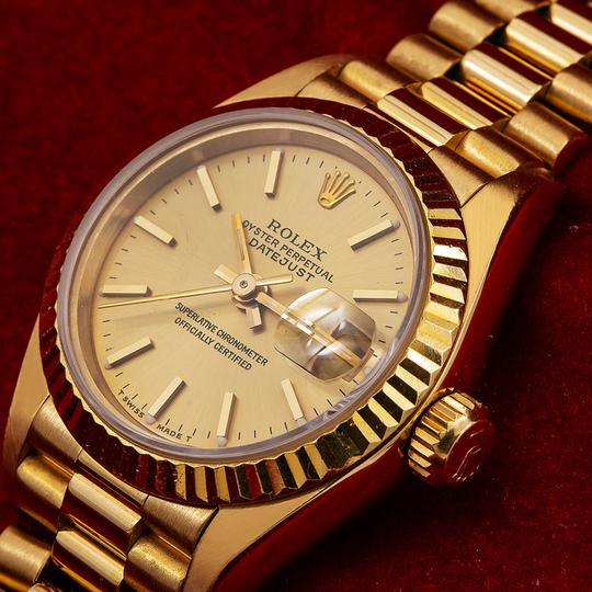 Rolex Rolex Datejust 69178 26MM Champagne Dial With Yellow Gold Bracelet Image 1