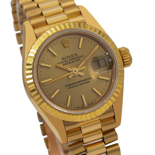 Rolex Rolex Datejust 69178 26MM Champagne Dial With Yellow Gold Bracelet Image 2
