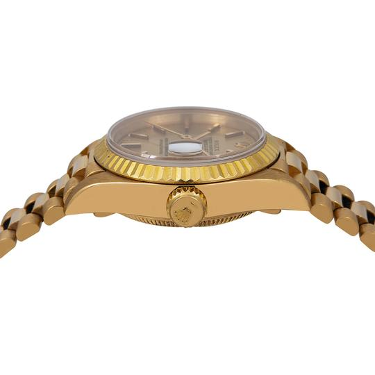 Rolex Rolex Datejust 69178 26MM Champagne Dial With Yellow Gold Bracelet Image 3