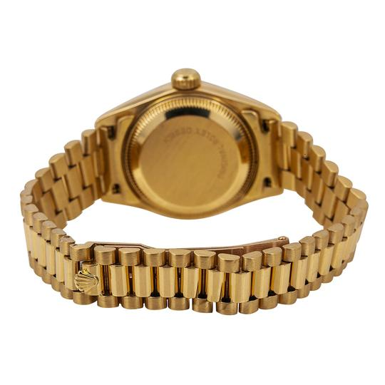 Rolex Rolex Datejust 69178 26MM Champagne Dial With Yellow Gold Bracelet Image 4