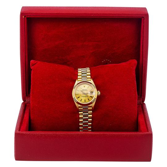 Rolex Rolex Datejust 69178 26MM Champagne Dial With Yellow Gold Bracelet Image 5