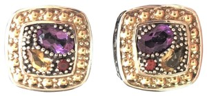 EFFY Authentic EFFY Balissima Earrings Stud Multi Gemstones