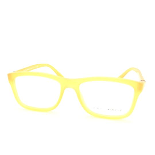 Dolce&Gabbana Dolce and Gabbana Square Translucent Yellow DG3164 c.652 Rx Eyeglasses Image 1