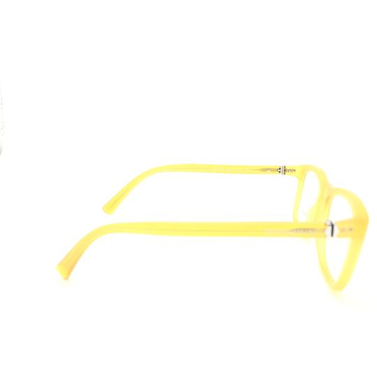 Dolce&Gabbana Dolce and Gabbana Square Translucent Yellow DG3164 c.652 Rx Eyeglasses Image 4