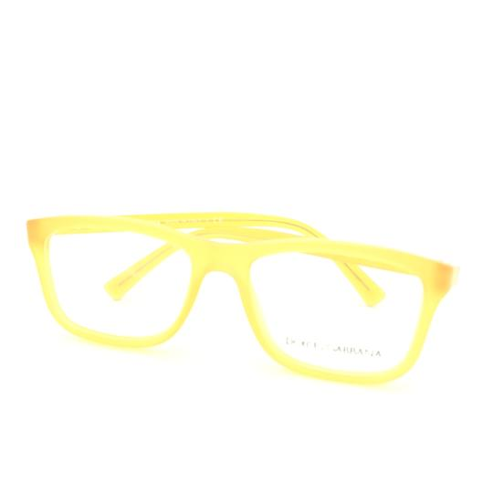 Dolce&Gabbana Dolce and Gabbana Square Translucent Yellow DG3164 c.652 Rx Eyeglasses Image 7