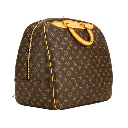 Louis Vuitton Brown Travel Bag Image 1