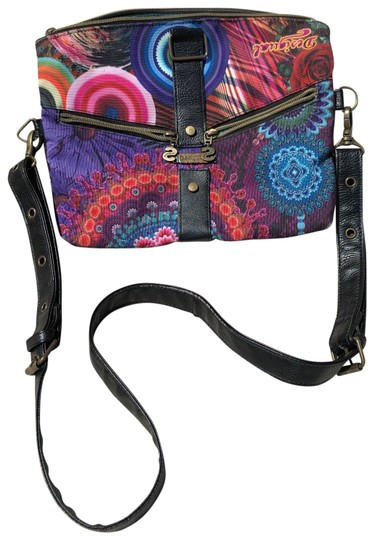 Preload https://img-static.tradesy.com/item/25813716/desigual-clutch-to-multicolor-canvas-cross-body-bag-0-1-540-540.jpg