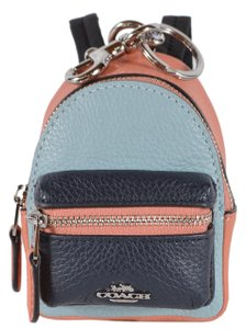 Coach NEW Coach Colorblock Leather Mini Backpack Coin Purse Key Chain