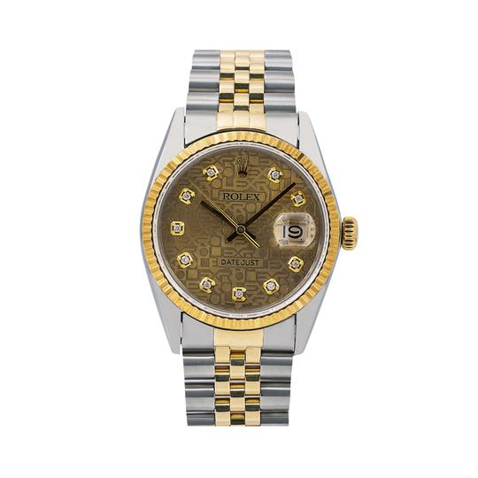 Preload https://img-static.tradesy.com/item/25813770/rolex-champagne-datejust-16013-36mm-diamond-dial-with-120-ct-diamonds-watch-0-0-540-540.jpg