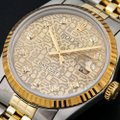 Rolex Rolex Datejust 16013 36MM Champagne Diamond Dial With 1.20 CT Diamonds Image 1
