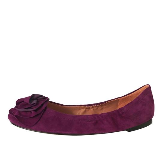 Vince Camuto Ballet Comfortable Orchid Flats Image 2