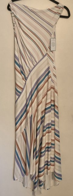 Multi Strip Maxi Dress by Peter Pilotto New Image 1