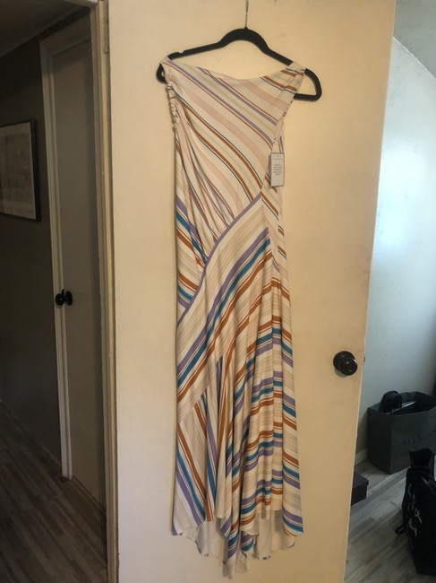 Multi Strip Maxi Dress by Peter Pilotto New Image 3