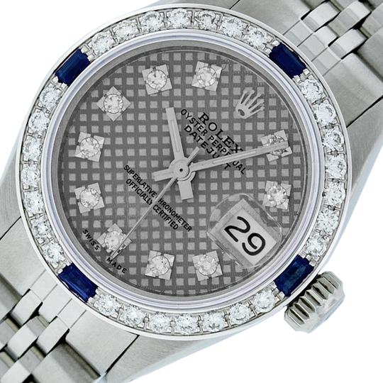 Preload https://img-static.tradesy.com/item/25813866/rolex-gray-stamp-ladies-datejust-stainless-steel-with-diamond-dial-watch-0-1-540-540.jpg