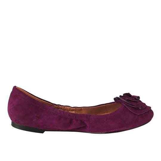 Vince Camuto Ballet Comfortable Slip On Rose Orchid Flats Image 2