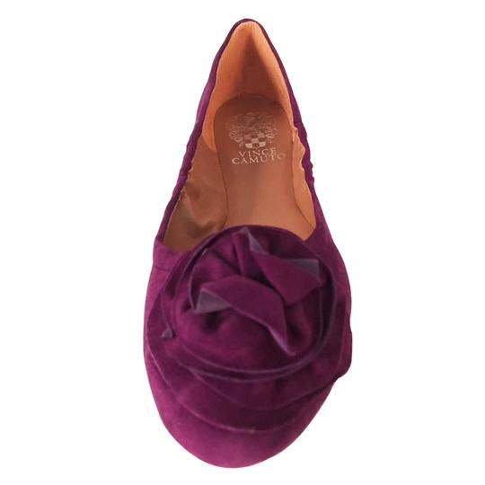 Vince Camuto Ballet Comfortable Slip On Rose Orchid Flats Image 3