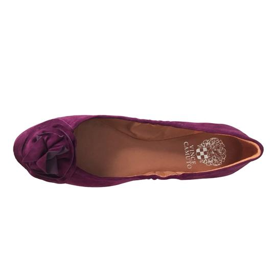 Vince Camuto Ballet Comfortable Slip On Rose Orchid Flats Image 4