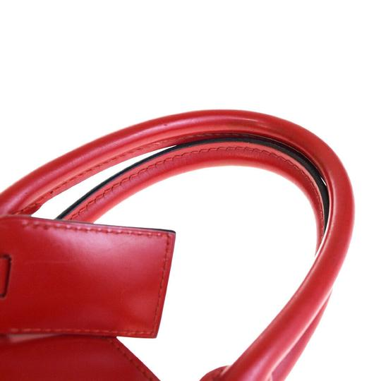 Louis Vuitton Tote in Red Image 7