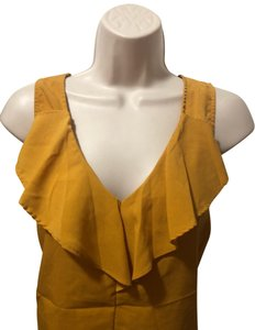 New York & Company Top mustard