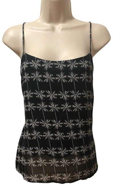 Item - Black and White Tank Top/Cami Size 8 (M)
