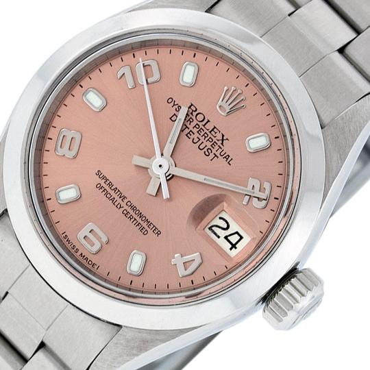 Preload https://img-static.tradesy.com/item/25814256/rolex-salmon-ladies-datejust-stainless-steel-with-luminous-dial-watch-0-2-540-540.jpg