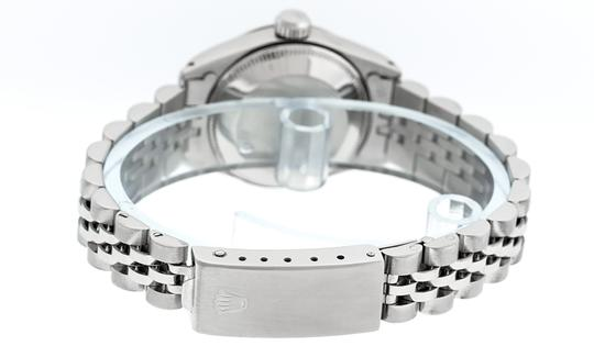 Rolex Ladies Datejust Stainless Steel with Diamond Dial Watch Image 1