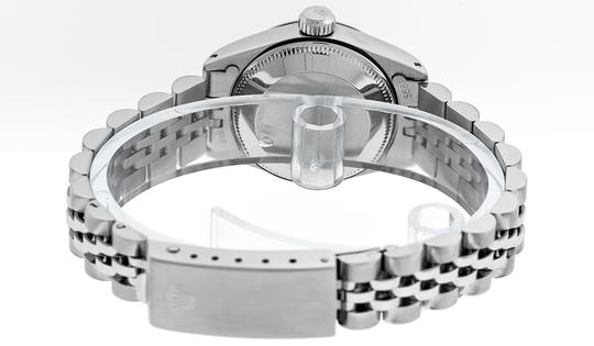 Rolex Ladies Datejust Stainless Steel with Diamond Dial Watch Image 4