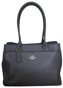 Coach Navy Casey F31474 Tote in Midnight Blue